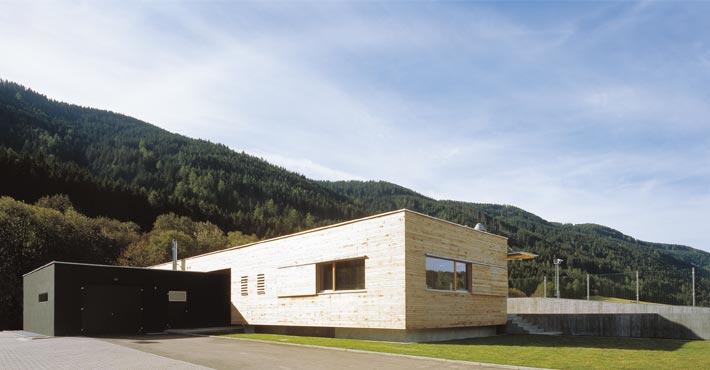 Servicegebäude SSV Pichl-Gsies